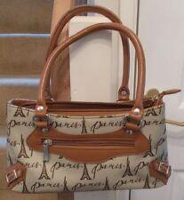 Unbranded Zipper Baguette Handbags with Inner Pockets