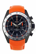 Vostok Watch Komandirskie K39 Quartz Chronograph Orange Tritium T25 GTLS 20ATM