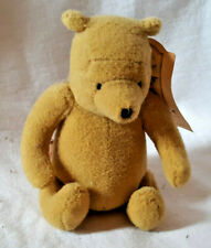 "Classic WINNIE the POOH Velour 4"" Seated Bear, Disney, from Gund, NtWT"
