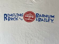 Vintage 90s Ringling Bros. And Barnum And Bailey Graphic Tee Shirt Size XL Rare
