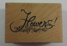 PSX Rubber Stamp Flowers D-2426