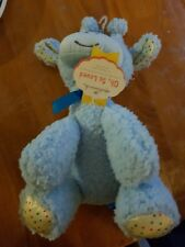Hallmark oh, So Loved Blue Giraffe Plush Animal