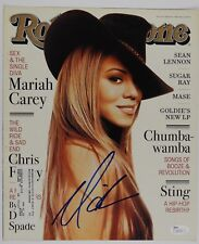 Mariah Carey Rolling Stone Cover JSA PSA Autograph Signed Cover Only