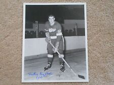 2 TIME STANLEY CUP CHAMP METRO PRYSTAI DETROIT RED WINGS 8 X 10 AUTOGRAPH W/COA