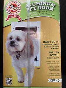 Aluminum Pet Door by Ideal Pet Products ~ Medium ~ NIB
