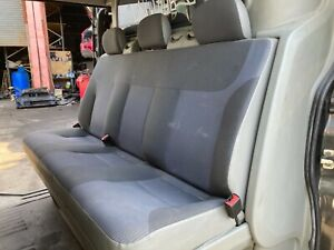 VAUXHALL VIVARO MK1 VAN MINI BUS 2007 REAR BENCH SEATS WITH BULKHEAD GENUINE
