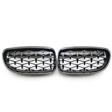 Fit for BMW E90 LCI 09-11 Grille Gloss Black Diamond Meteor Latest Style Grill