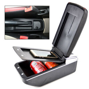 Dual Layer Armrest For Toyota bB Scion xB Storage Box Center Console Car Tray