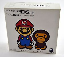NEW Mario A Bathing Ape Baby Milo Nintendo DS Lite Limited Edition System EPIC!