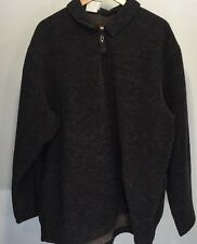 Timberland Fleece Large 1/4 Zip Pullover Reddish Gray L/S