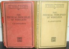 I principi fisici di wireless: J un Ratcliffe 1941 radiotelefonica fisica