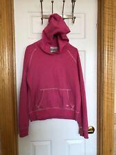 Victoria's Secret PINK Sweatshirt Hoodie Patch Logo Fleece Top Shirt