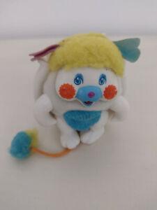 Vintage Popples Pink Puffball Mini 3-inch Pocket Doll 1986