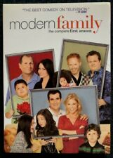 Modern Family: The Complete First Season Dvd, 4 Disc-Set, Vg Condition,Free Shpg
