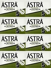 40 Astra Superior Platinum double edge razor blades