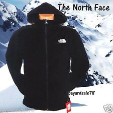 MEN'S SIZE MEDIUM BLACK THE NORTH FACE FLEECE REALGAR JACKET FULL ZIP HOODIE NEW