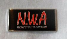 ***NEW*** NWA enamel pin badge. Hip-Hop, Dr Dre, Ice Cube, Eazy-E, Ruthless