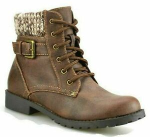 Girls Kids New Zip Up School Winter Casual Chelsea Ankle Zip Boots Shoes Size 12