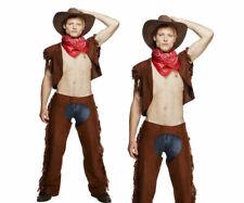 Sexy Cow-Boy Costume Déguisement Hommes Poule Strip-Teaseuse Nuit Dream Garçon