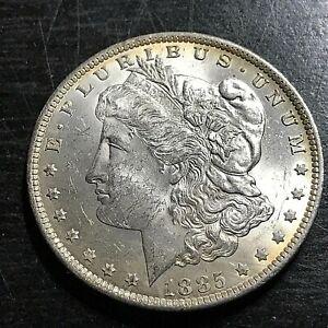 1885-O MORGAN SILVER DOLLAR MINT STATE BRILLIANT UNCIRCULATED