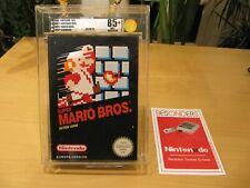 Nintendo NES - SUPER MARIO BROS - VGA 85+ NM+ QUALIFIED - PAL EUROPA VERSION