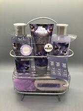 Floral Breeze Bath and Body Gift Set 6 Piece Secret Garden Gel Lotion  NEW ML3