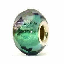 Authentic Trollbeads Glass 60184 Turquoise Prism *0
