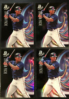 2018 Bowman Platinum Cristian Pache Top Prospect Rookie RC Lot 4 Atlanta Braves