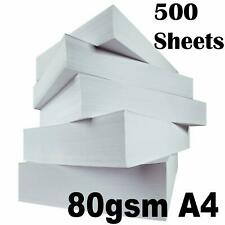 HP OFFICE A4 WHITE PAPER 80GSM PRINTER COPIER SCANNER 1-5 REAMS OF 500 SHEETS