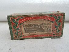 1940's VINTAGE HUNTLEY & PALMERS DIGESTIVE BISCUITS ADV. TIN BOX, ENGLAND