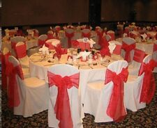 White Polyester Wedding decoration Banquet Round/Square Top Chair Cover FREE S&H