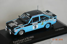 Ford Escort II RS 1800 Rac Rally 1978 #9 1:43  Minichamps neu & OVP 400788409
