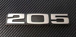 Peugeot 205 GTI Cti Dturbo Gentry Van STDT reproduction Boot badge