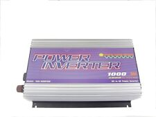 1000W Inverter 12V/120V/60Hz, PURE SINE WAVE, for solar system, for photovoltaic
