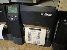 Zebra ZM600 ZM600-300E-0000T Thermal Barcode Label Printer USB POS 839747 Inch