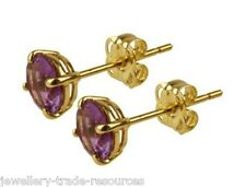 10k Yellow Gold Amethyst Fine Jewellery