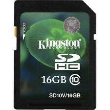 Kingston SDHC 16 GB Memory Card