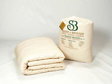 Hypoallergenic Organic Pure Wool CAL KING MATTRESS PAD/TOPPER by Sleep & Beyond