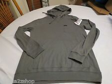 Quiksilver long sleeve shirt snit hood hoodie hoody small S KQC0 Men's NEW NWT