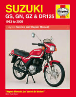 Suzuki GS125 GN125 GZ125 DR125 1982-2005 Haynes Manual 0888 NEW