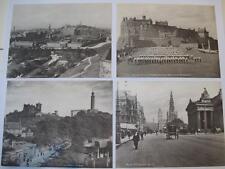 More details for set 20 large old printed views edinburgh scotland  not postcards