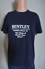 Vintage '80s Bentley Cheverolet-Oldsmobile Russellville AL blue t shirt M