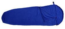 Basic Nature Polaire Sac de couchage Intérieur du doublure momie Bleu