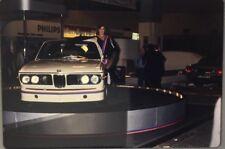 Rare Ektachrome De Presse Original 1970's BMW 2002 Course !!!!