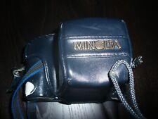 WORKING MINOLTA 7000 + CASE WITH MINOLTA LENS 35-70mm LENS  1:4