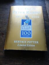 Beatrix Potter Tale of Peter Rabbit Centenary 100 Years Limited Edition Unread