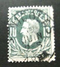 Belgium-1869-10c Green-Used