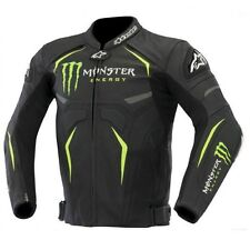 NEW STYLE RACING MOTORBIKE LEATHER JACKET CE APPROVED PROTECTION