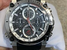 Bulova 98B172 Men's Precisionist Chronograph Black Rubber Strap Watch MSRP $699