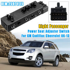RH Front Right Passenger Side Power Seat Switch For Bulck Cadillac Chevrolet GMC